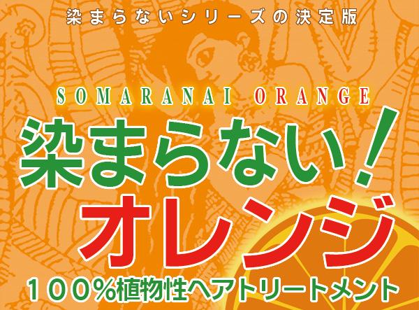 染まらないオレンジ/染まらないオレンジ低刺激