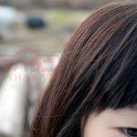 ヘナカラー黒髪